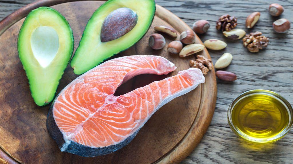 Jedzenie bogate w tłuszcze omega-3