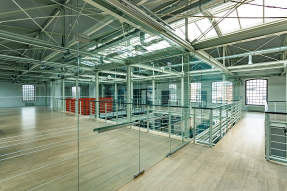 szklane balustrady i ściany