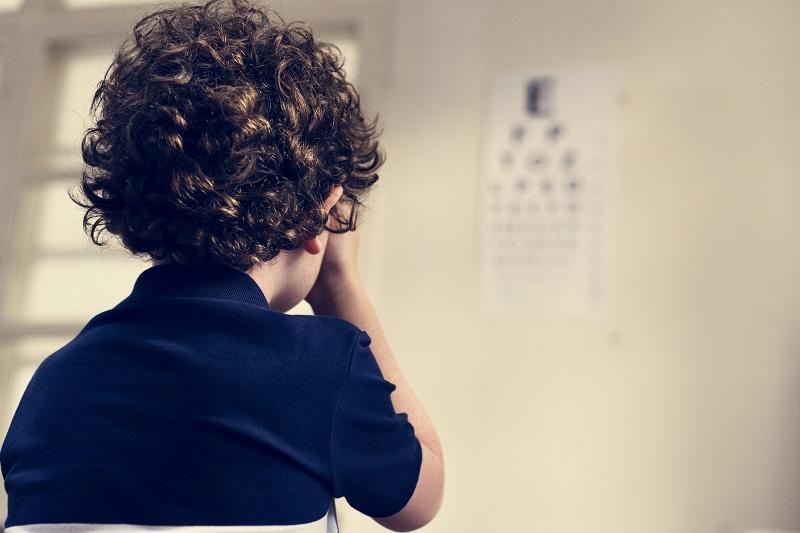 dziecko badanie oczu